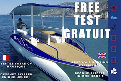 Test gratuit d'expérience nautique