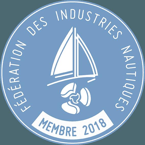 Membre de la FIN - Fédération des Industries Nautiques